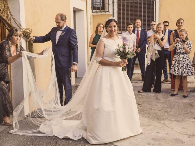 La boda de Isaac y Beatriz en Saelices, Cuenca 17
