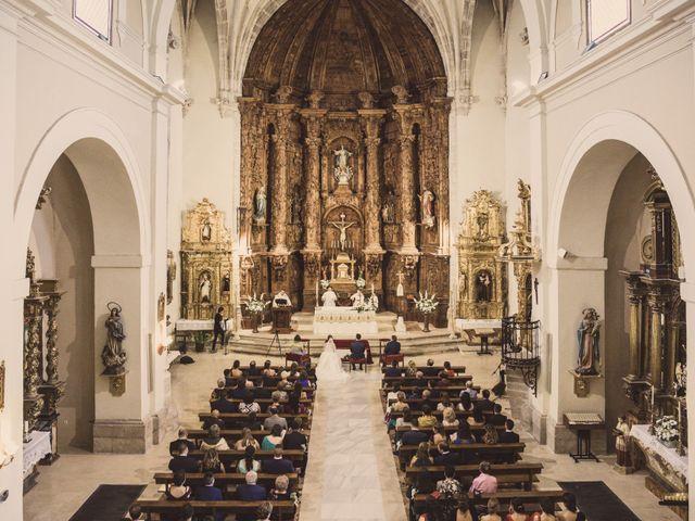 La boda de Isaac y Beatriz en Saelices, Cuenca 30