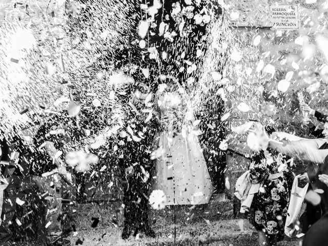 La boda de Isaac y Beatriz en Saelices, Cuenca 34