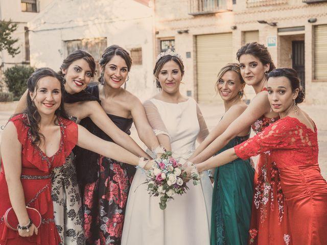 La boda de Isaac y Beatriz en Saelices, Cuenca 35