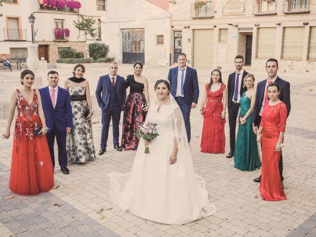 La boda de Isaac y Beatriz en Saelices, Cuenca 36