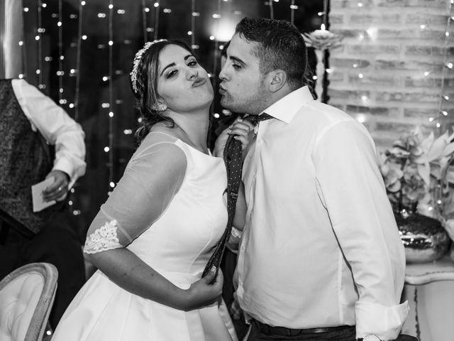 La boda de Isaac y Beatriz en Saelices, Cuenca 55