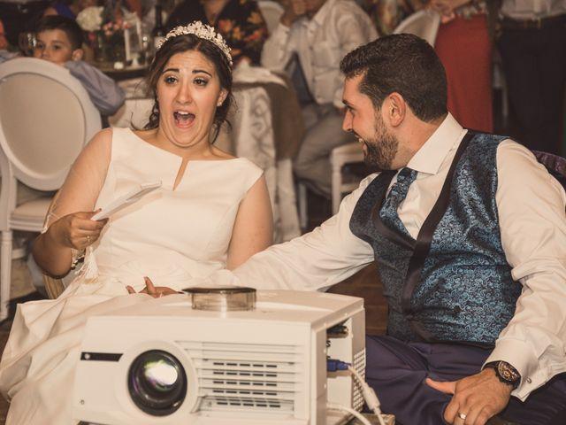 La boda de Isaac y Beatriz en Saelices, Cuenca 56