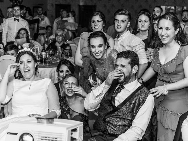 La boda de Isaac y Beatriz en Saelices, Cuenca 57