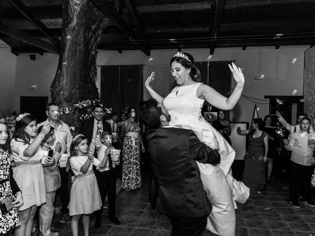 La boda de Isaac y Beatriz en Saelices, Cuenca 59