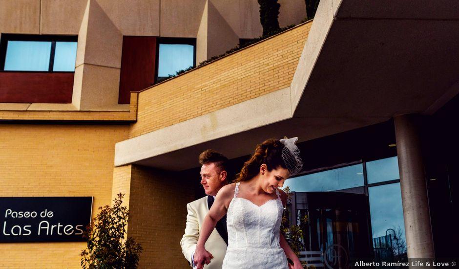 La boda de Jimmy y Gwen en Pinto, Madrid
