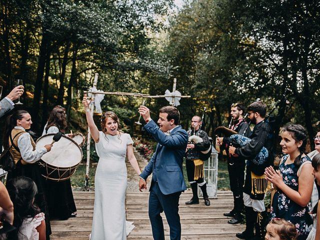 La boda de Daniel y Silvia en Freande, Orense 40