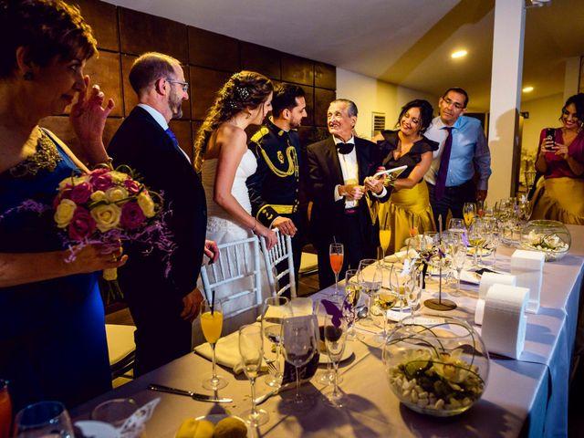 La boda de Fernando y Giovanna en Torrejon De La Calzada, Madrid 77