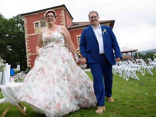La boda de Janire y David