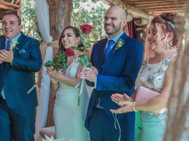 La boda de Daniel y Mercedes en Villarrubia De Los Ojos, Ciudad Real 12