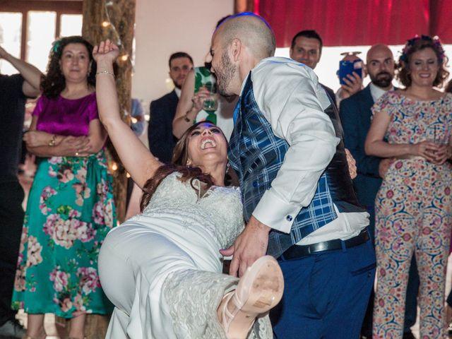 La boda de Daniel y Mercedes en Villarrubia De Los Ojos, Ciudad Real 60
