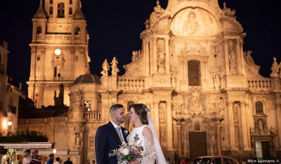 La boda de Santiago y Isa en Llano De Brujas, Murcia