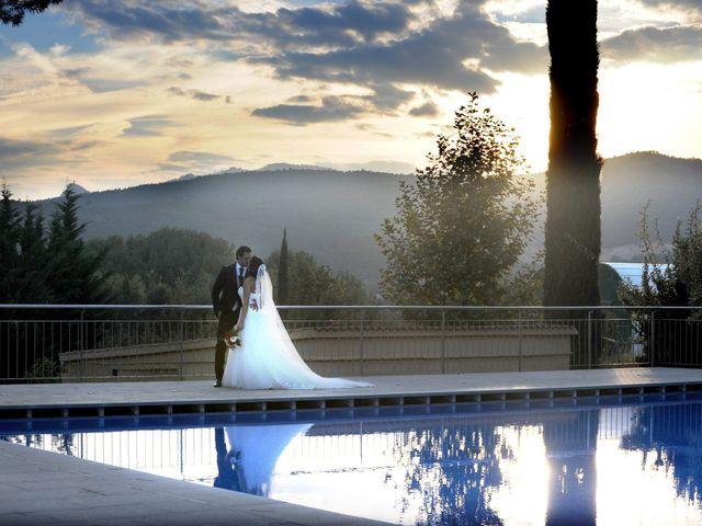 La boda de Javier y Erika en Santa Coloma De Farners, Girona 1