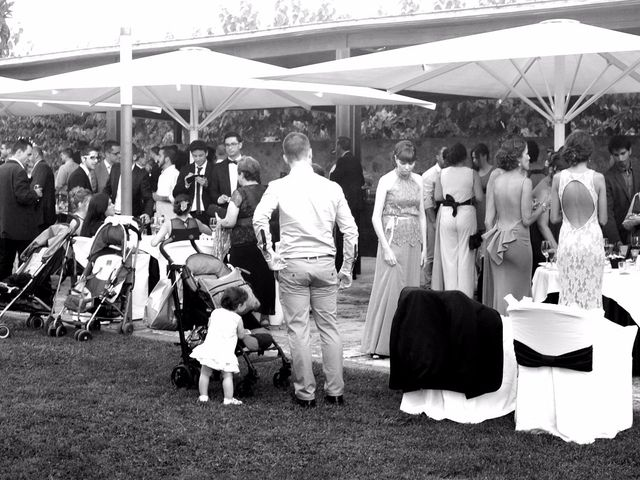 La boda de Javier y Erika en Santa Coloma De Farners, Girona 11