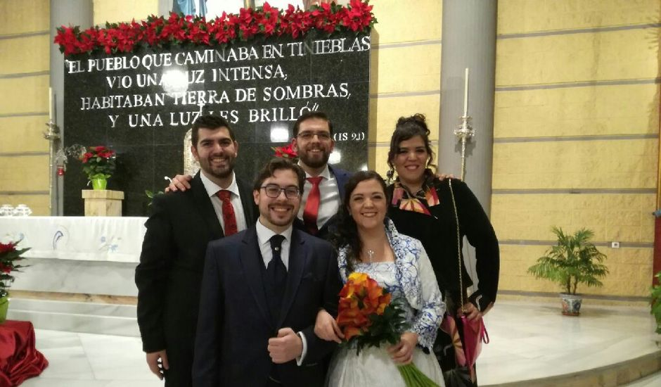 La boda de Nacho  y Tina en Granada, Granada