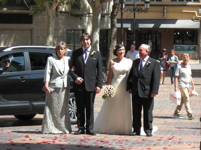 La boda de Raúl y Romina en Zaragoza, Zaragoza 1