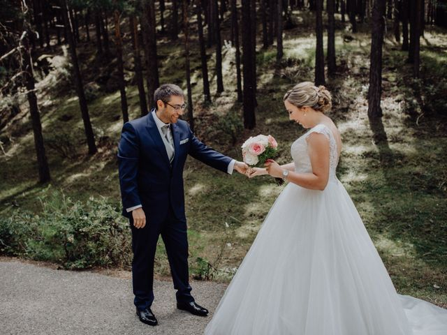 La boda de Raúl y Cristina en San Leonardo De Yague, Soria 30