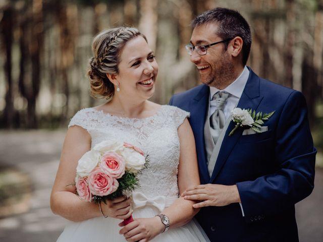 La boda de Raúl y Cristina en San Leonardo De Yague, Soria 35