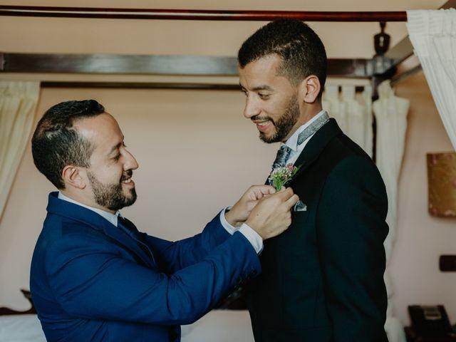La boda de Daniel y María Paola en El Berrueco, Madrid 17
