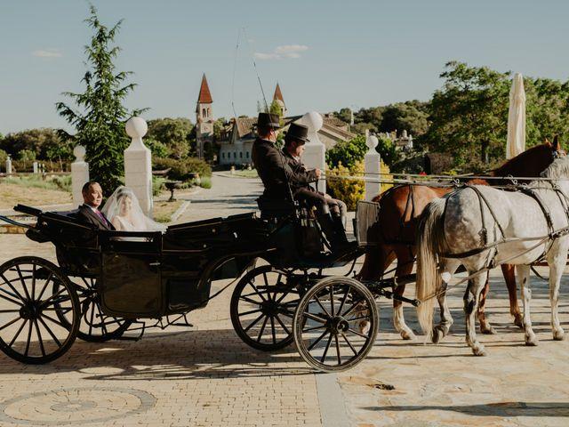 La boda de Daniel y María Paola en El Berrueco, Madrid 54