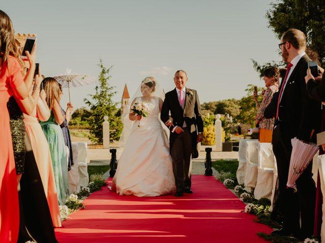 La boda de Daniel y María Paola en El Berrueco, Madrid 58