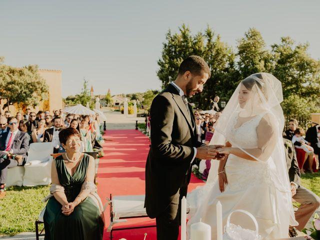 La boda de Daniel y María Paola en El Berrueco, Madrid 64