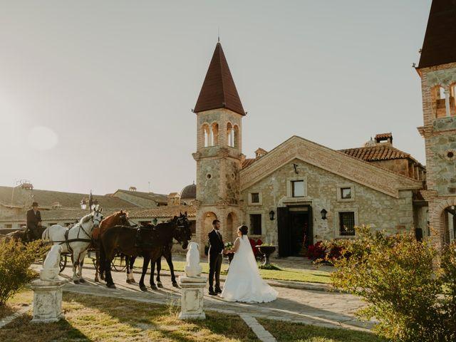 La boda de Daniel y María Paola en El Berrueco, Madrid 76