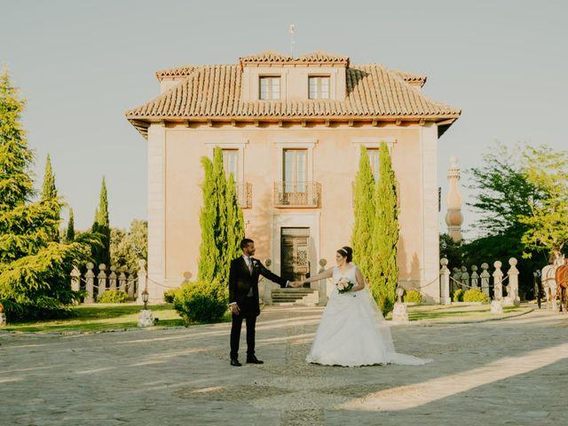 La boda de Daniel y María Paola en El Berrueco, Madrid 86