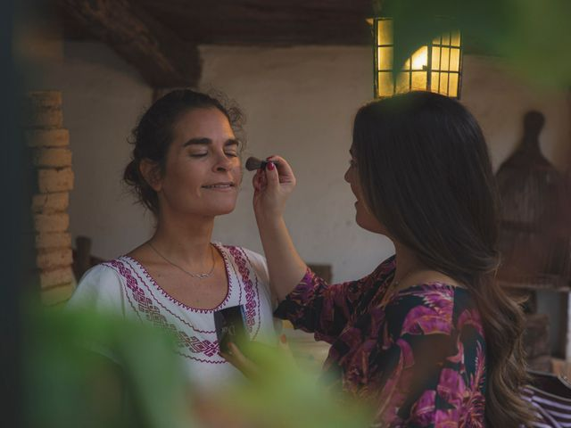 La boda de Andrés y Bea en Santa Ana La Real, Huelva 9