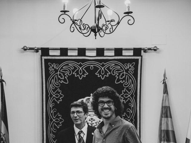 La boda de Andrés y Bea en Santa Ana La Real, Huelva 24