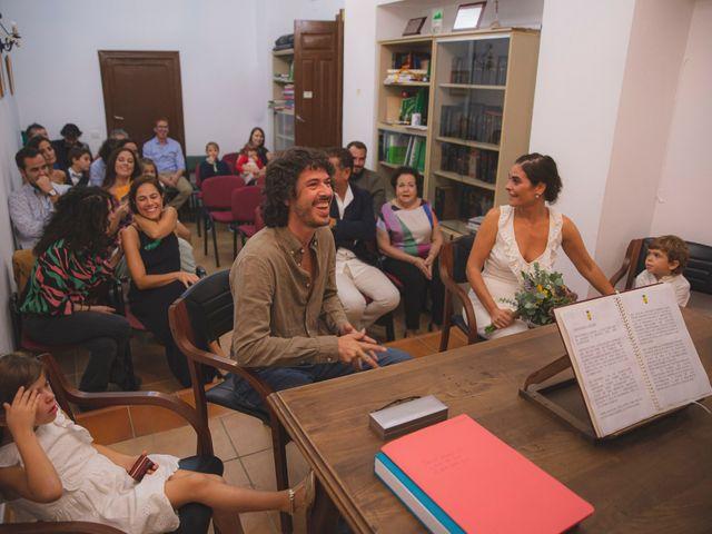 La boda de Andrés y Bea en Santa Ana La Real, Huelva 25