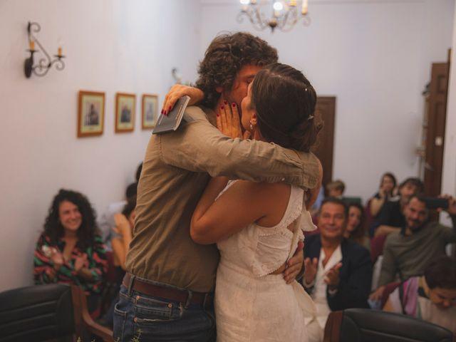 La boda de Andrés y Bea en Santa Ana La Real, Huelva 30