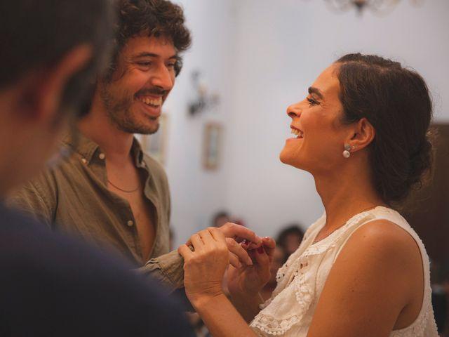 La boda de Andrés y Bea en Santa Ana La Real, Huelva 33