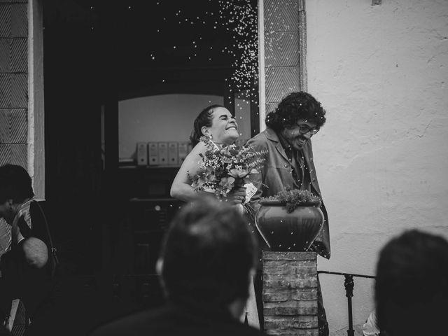 La boda de Andrés y Bea en Santa Ana La Real, Huelva 36