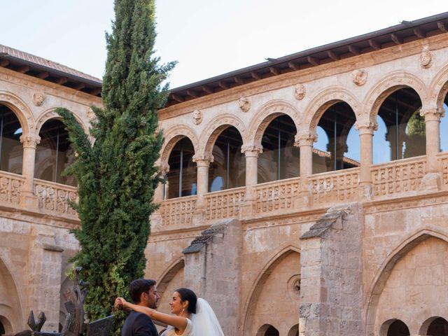 La boda de Santi y Esther en San Bernardo, Valladolid 76