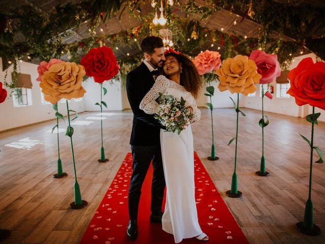 La boda de David y Luisa en Valdemorillo, Madrid 36