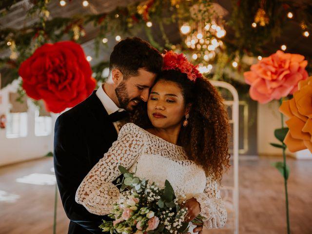 La boda de David y Luisa en Valdemorillo, Madrid 35