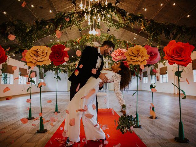 La boda de David y Luisa en Valdemorillo, Madrid 1