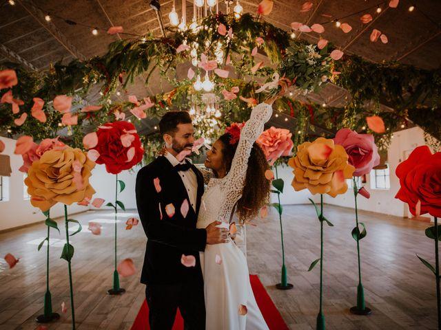 La boda de David y Luisa en Valdemorillo, Madrid 37