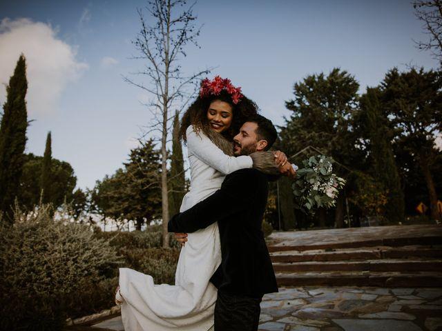 La boda de David y Luisa en Valdemorillo, Madrid 40