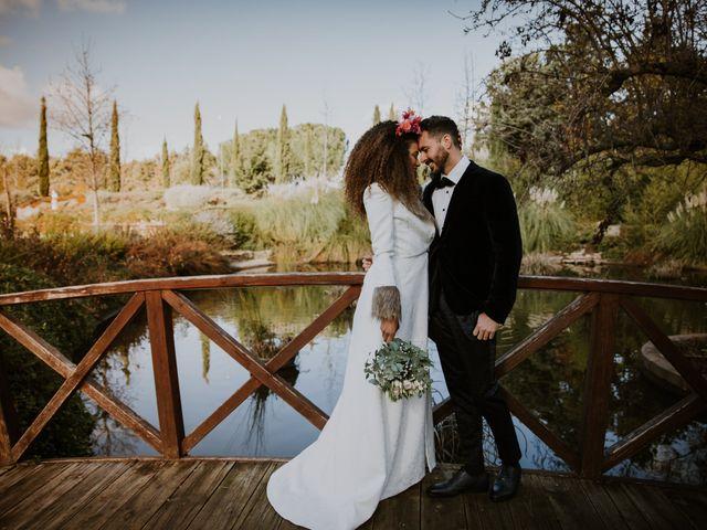 La boda de David y Luisa en Valdemorillo, Madrid 49