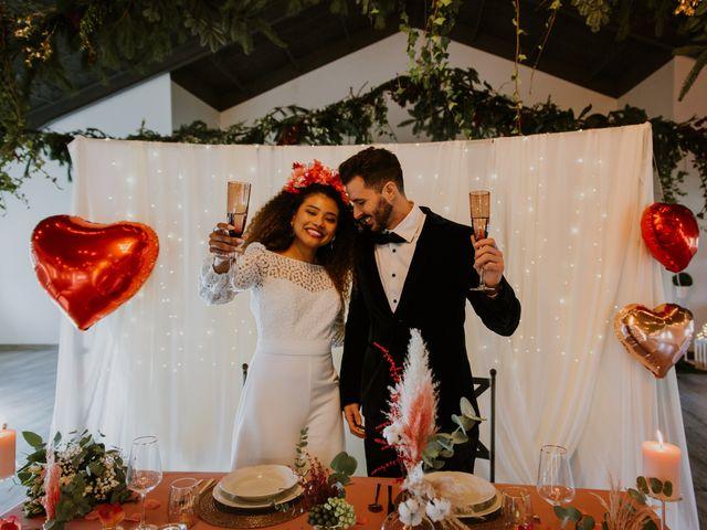 La boda de David y Luisa en Valdemorillo, Madrid 66