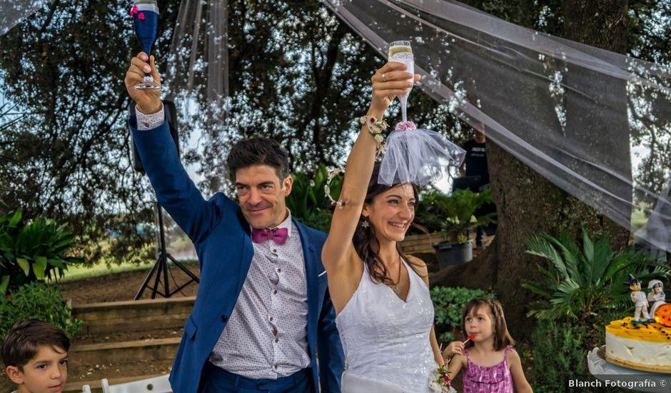 La boda de Gerard y Inma en Estanyol, Girona
