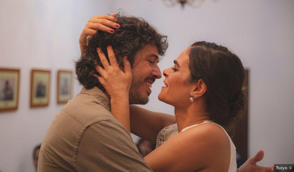 La boda de Andrés y Bea en Santa Ana La Real, Huelva