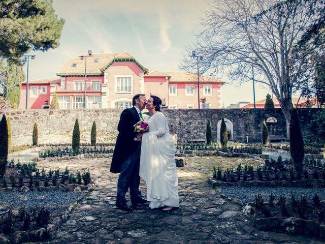 La boda de Fran y Esther en Collado Villalba, Madrid 38