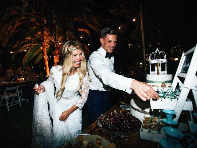La boda de Andreas y Elise en Olerdola, Barcelona 75