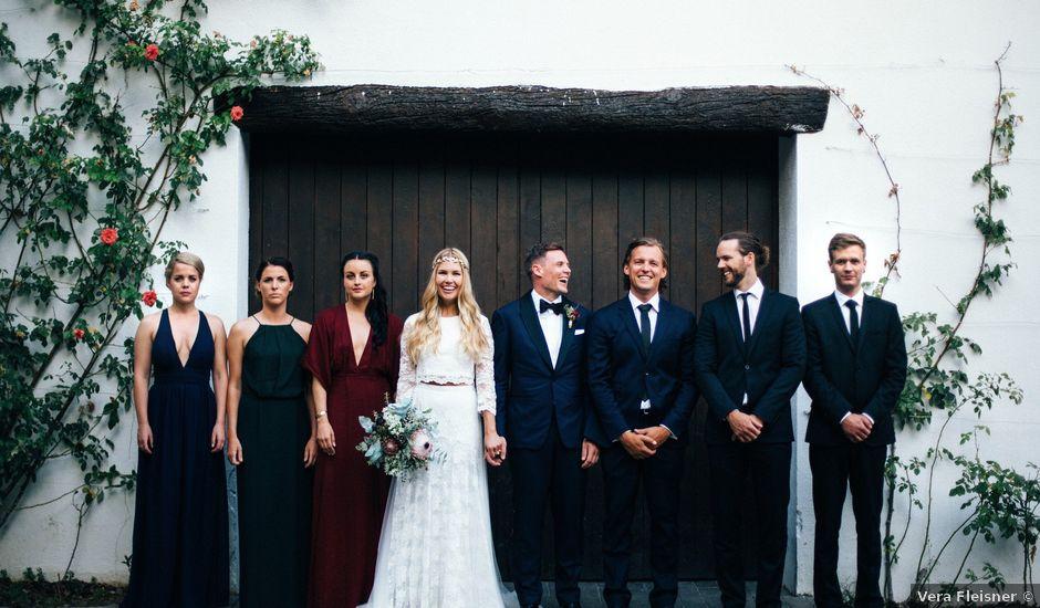 La boda de Andreas y Elise en Olerdola, Barcelona