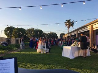 La boda de Cintia y Christian