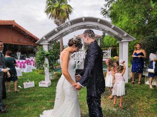 La boda de Victoria y Dani