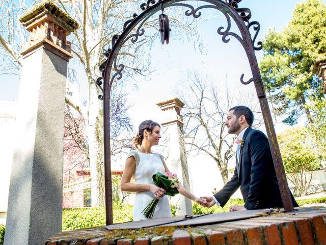 La boda de Alberto y Isabel en Madrid, Madrid 17